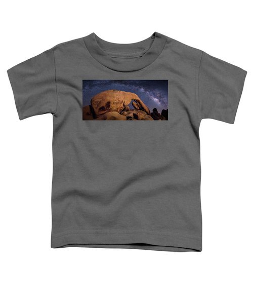 Milky Way Over Arch Rock Toddler T-Shirt
