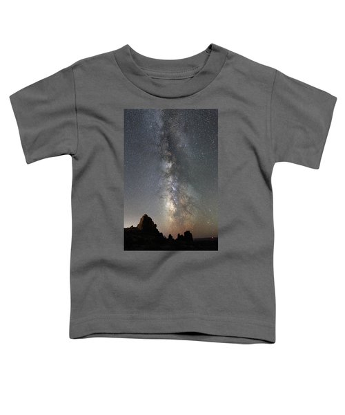 Milky Way Over Arches Np  One Toddler T-Shirt