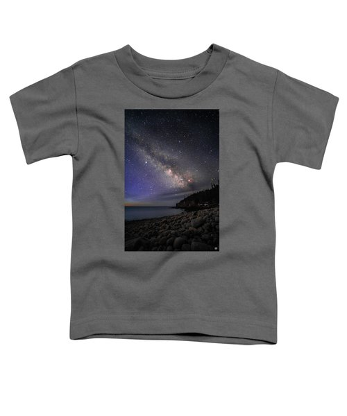 Milky Way Over Boulder Beach Toddler T-Shirt