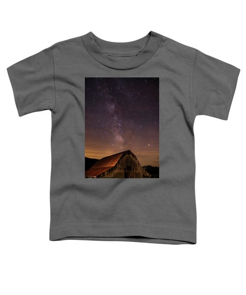 Milky Way Over Boxley Barn Toddler T-Shirt