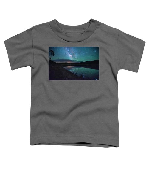 Milky Way Reflections Toddler T-Shirt