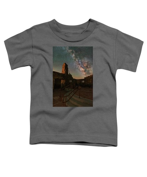 Milky Way Steps At The Crest House Ruins Toddler T-Shirt