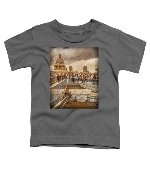 London, England - Millennium Bridge II Toddler T-Shirt
