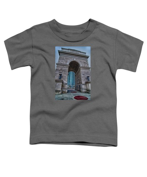 Millennium Gate Triumphal Arch At Atlantic Station In Midtown At Toddler T-Shirt