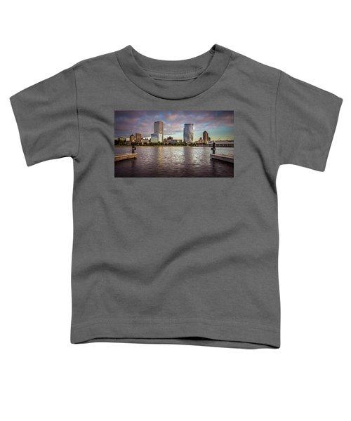 Milwaukee Skyline Toddler T-Shirt