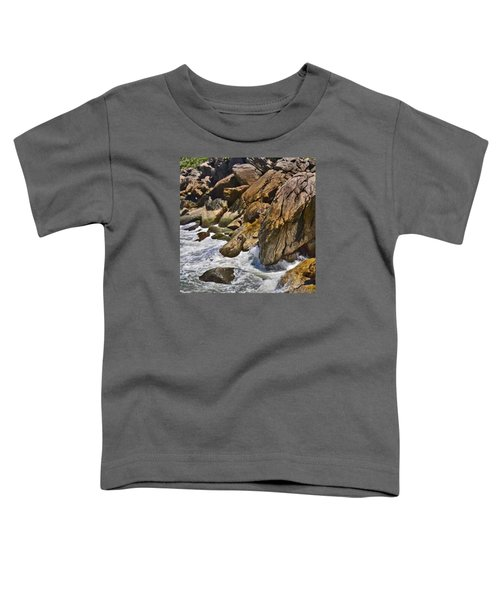 Brazilian Sea Cliffs - Guaruja - Sao Paulo Toddler T-Shirt