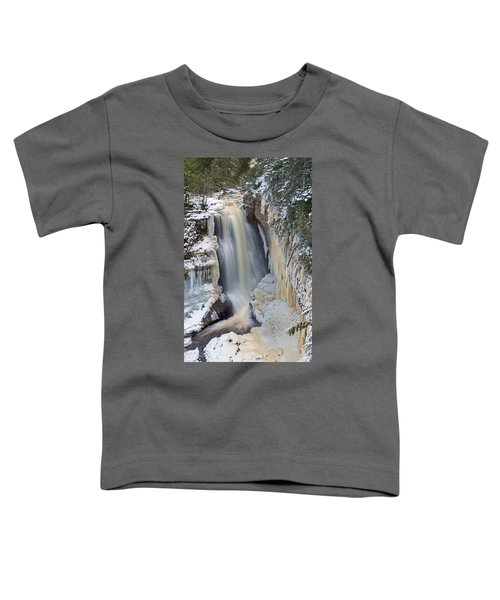 Miners Falls In The Snow Toddler T-Shirt