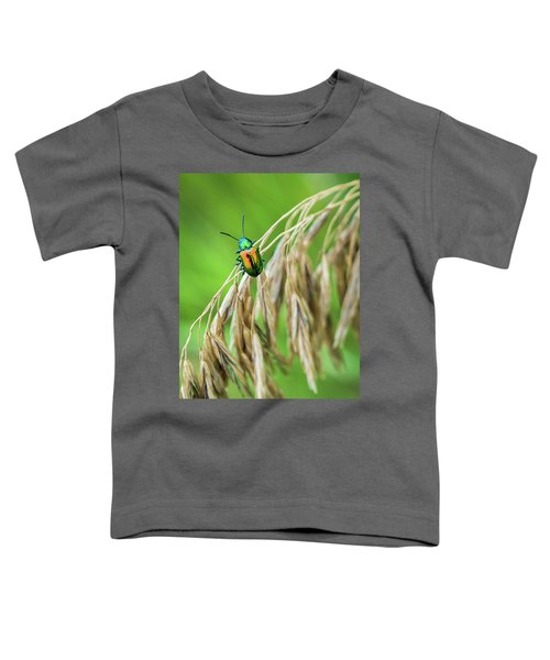 Toddler T-Shirt featuring the photograph Mini Metallic Magnificence  by Bill Pevlor