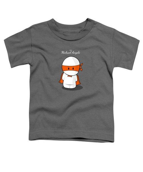 Mini Super Hero Toddler T-Shirt by Islam Hassan