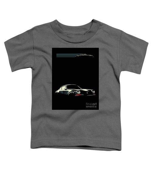 Minimalist Porsche Toddler T-Shirt