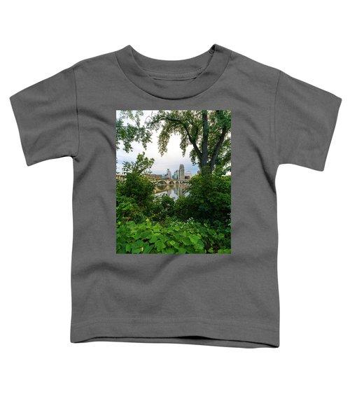 Minneapolis Through The Trees Toddler T-Shirt