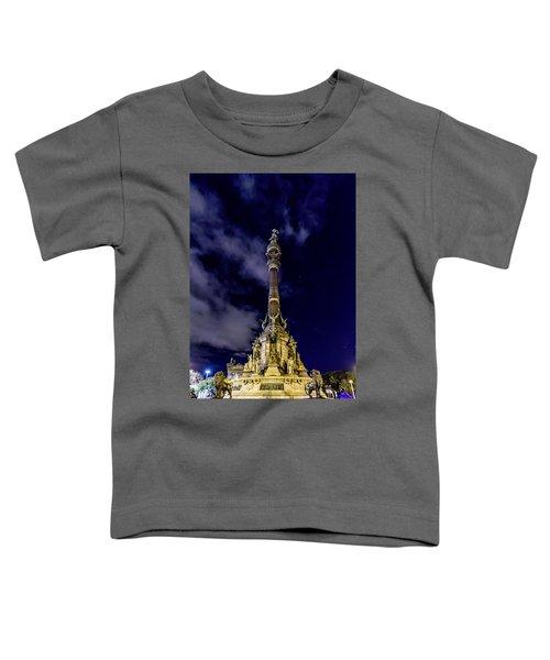Mirador De Colom Toddler T-Shirt by Randy Scherkenbach