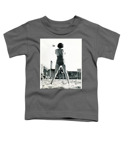 Miramar Pool, 1932 Toddler T-Shirt by Cole Thompson