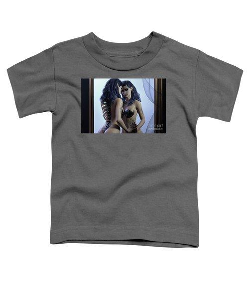 Mirror Cropped Toddler T-Shirt