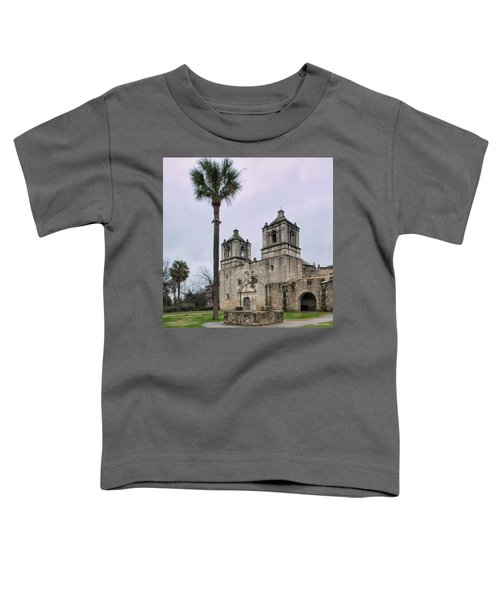 Mission Concepcion With Well And Tree Toddler T-Shirt
