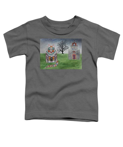 Mission Espada Cat Toddler T-Shirt