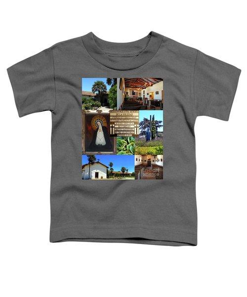 Mission Nuestra Senora De La Soledad Toddler T-Shirt