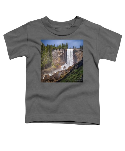 Mist Trail And Vernal Falls Toddler T-Shirt