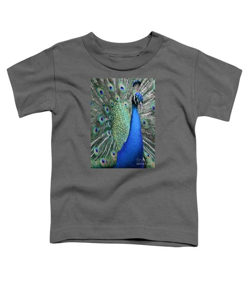 Mister Peacock Toddler T-Shirt