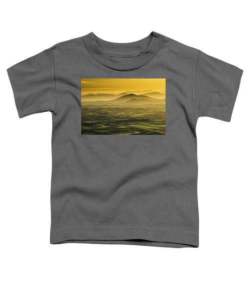 Misty Morning At Palouse. Toddler T-Shirt