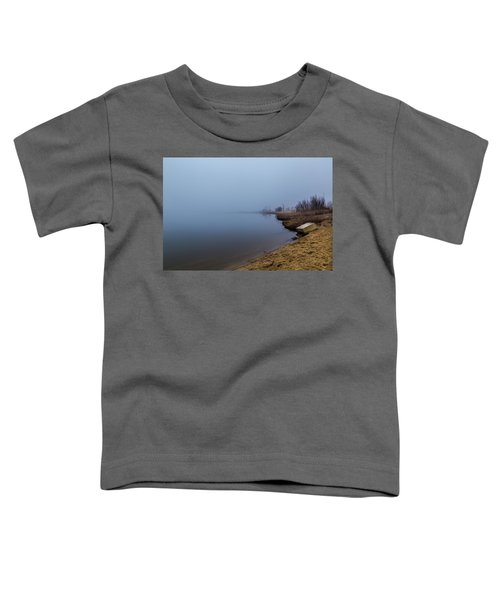 Misty Morning By The Lake Toddler T-Shirt