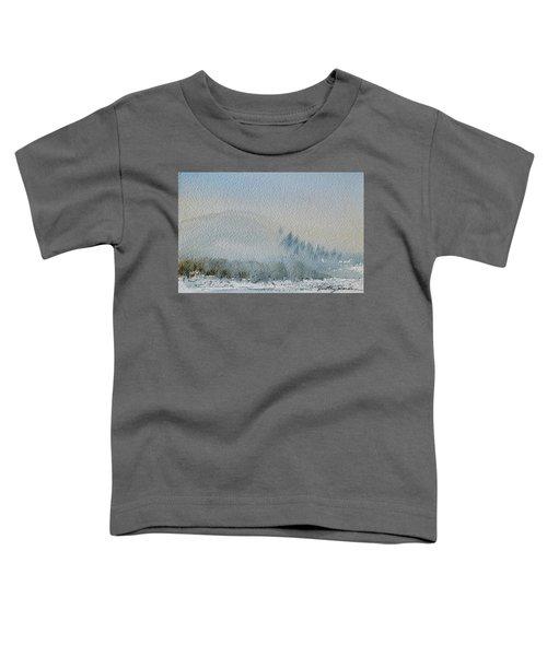 A Misty Morning Toddler T-Shirt