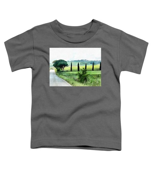 Misty Morning In Umbria Toddler T-Shirt