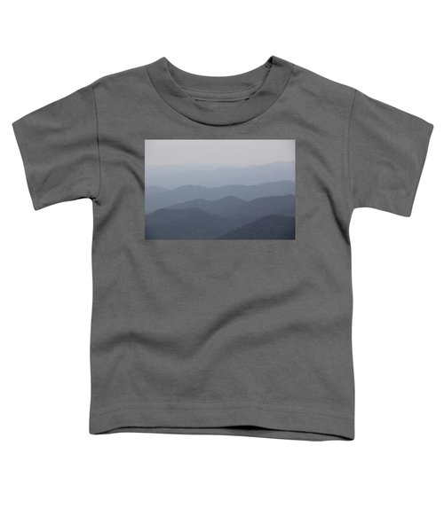 Misty Mountains Toddler T-Shirt