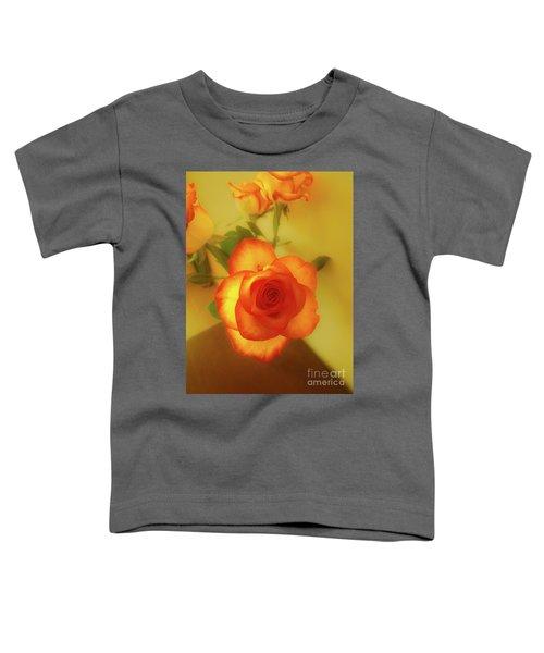 Misty Orange Rose Toddler T-Shirt