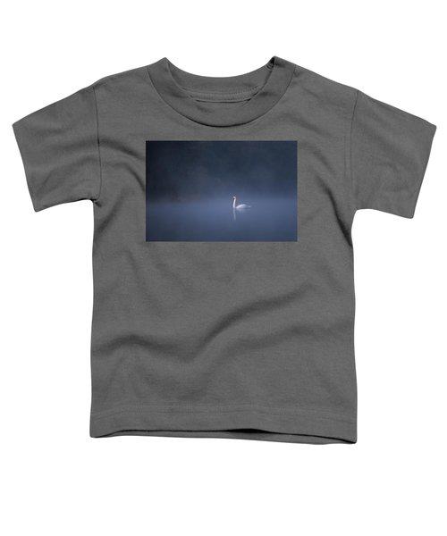 Misty River Swan Toddler T-Shirt