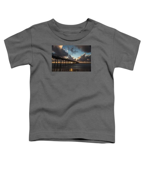 Misty Sunset Toddler T-Shirt