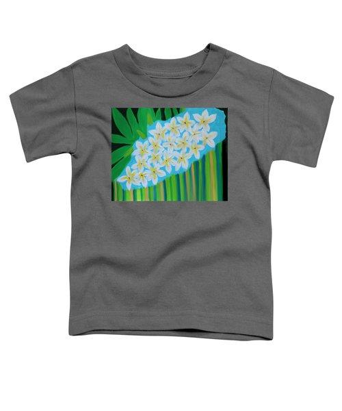 Mixed Up Plumaria Toddler T-Shirt