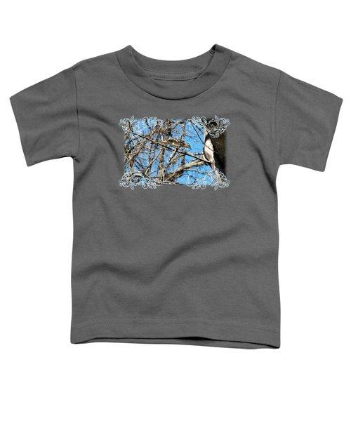Mockingbird Toddler T-Shirt by Katherine Nutt