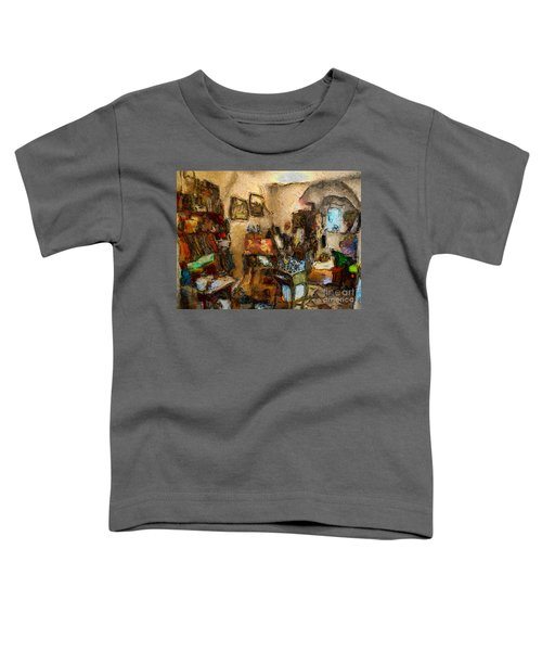 Modern Art Studio Toddler T-Shirt