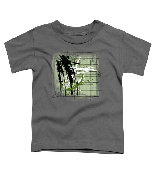 Modern Green Toddler T-Shirt by Melissa Smith
