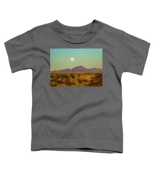 Mohave Desert Moon Toddler T-Shirt