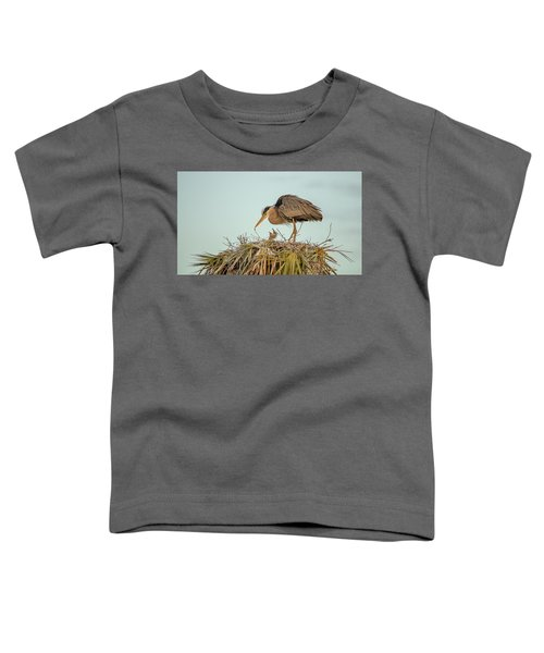 Mom And Chick Toddler T-Shirt