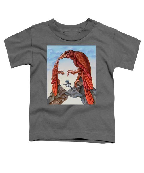 Mona Lisa. Air. Toddler T-Shirt