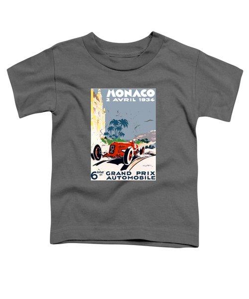 Monaco 1934 Toddler T-Shirt