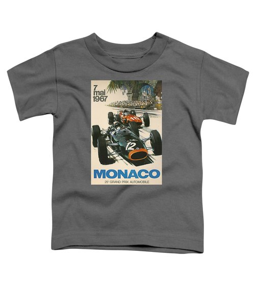 Monaco Grand Prix 1967 Toddler T-Shirt