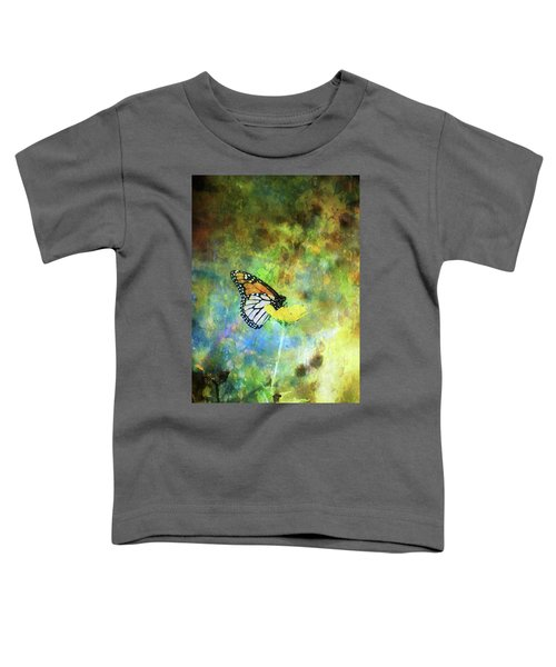 Monarch In Azure And Gold 5647 Idp_2 Toddler T-Shirt