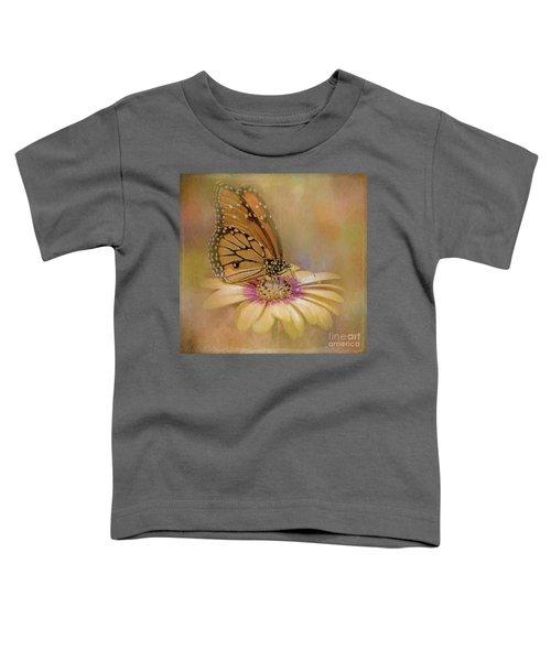 Monarch On A Daisy Mum Toddler T-Shirt