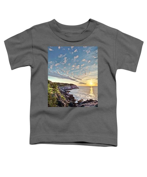 Monhegan East Shore Toddler T-Shirt