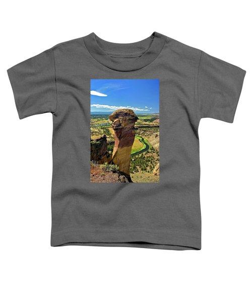 Monkey Face Toddler T-Shirt