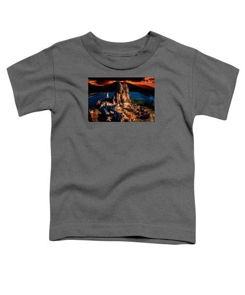 Mono Lake Sunset Toddler T-Shirt