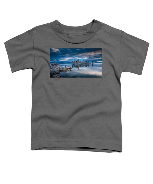 Mono Lake Tufas Toddler T-Shirt by Ralph Vazquez