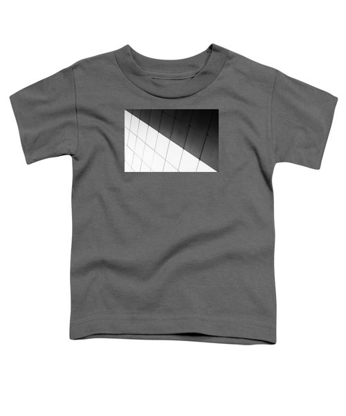 Monochrome Building Abstract 3 Toddler T-Shirt