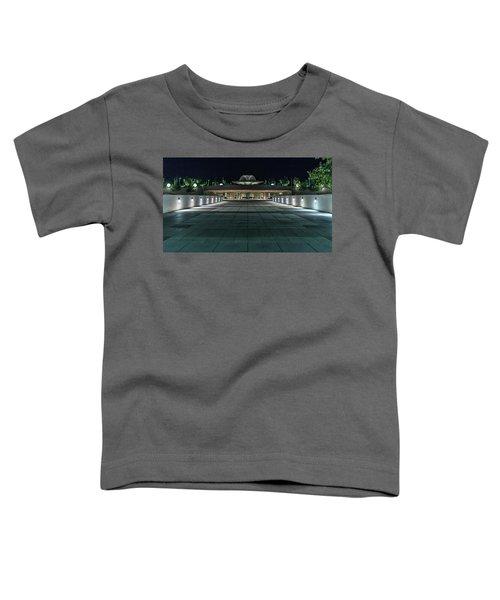 Monona Terrace Toddler T-Shirt by Randy Scherkenbach