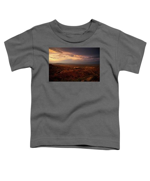Monsoon Storm Afterglow Toddler T-Shirt