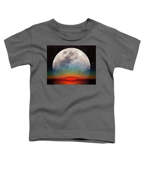 Monster Moonrise Toddler T-Shirt